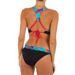 Bikini-Hose Nao Walis hoher Taillenbund mit Revers Damen