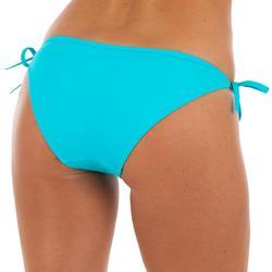Bikini-Hose Sofy seitlich gebunden Damen türkis