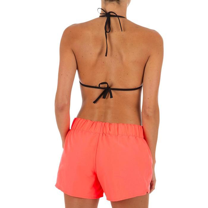 Sujetador de bikini mujer triángulos corredizos con copas MAE NEGRO