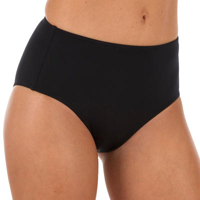 Romi Women's High-Waisted Surfing Swimsuit Bottoms - Black