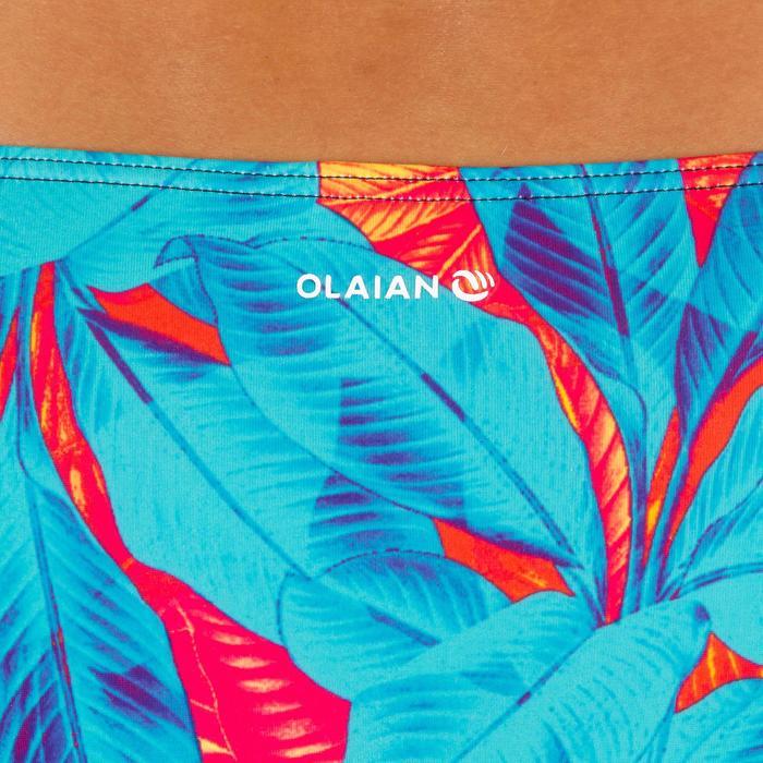 Braga Bikini Surf Pequeña Olaian Niki Walis Mujer Plisado Lateral Estampado Flor