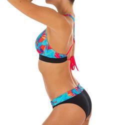 Bikinibroekje met hoge taille en omslag Nao Walis