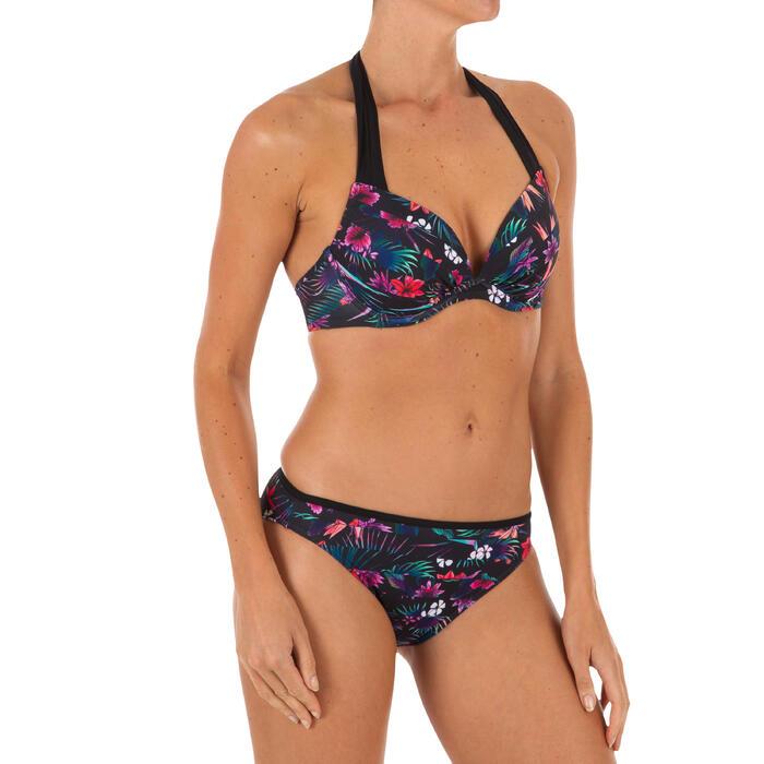 女款集中型襯墊式泳裝上衣ELENA DECIM