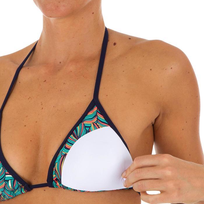 Top de bikini mujer triángulos corredizos con copas MAE FOLY
