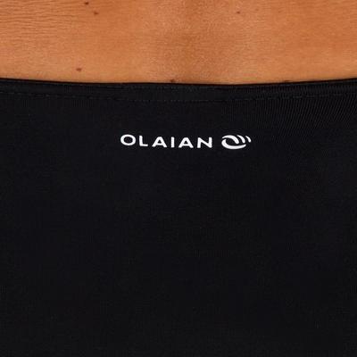 תחתוני גלישה בגזרה גבוהה לנשים Romi - שחור