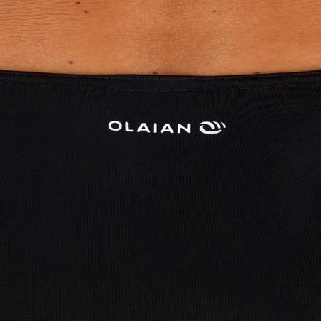 Romi Women's High-Waisted Surfing Swimsuit Bottoms - Black
