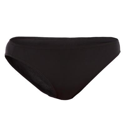 Calzón Clásico de Bikini Surf Olaian Mujer Niña Negro