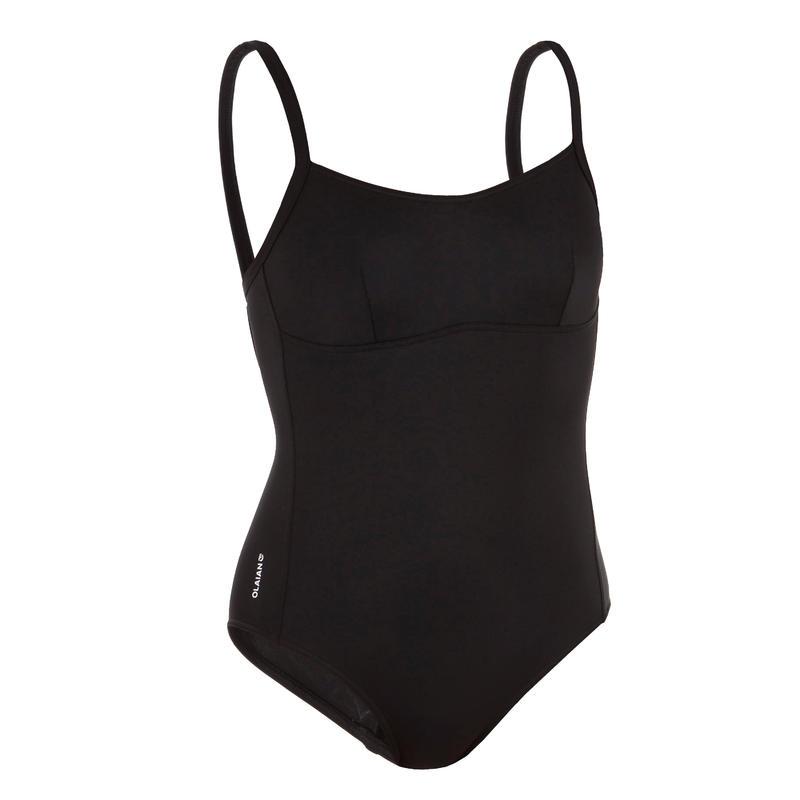 Women's Surf Swimsuit One-Piece - Cloe Black