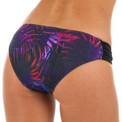 Bas de maillot de bain de surf femme plissée côté NIKI PALMI