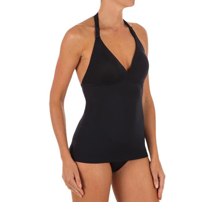 Bikini-Oberteil Tankini Ines angenähte Formschalen Damen schwarz