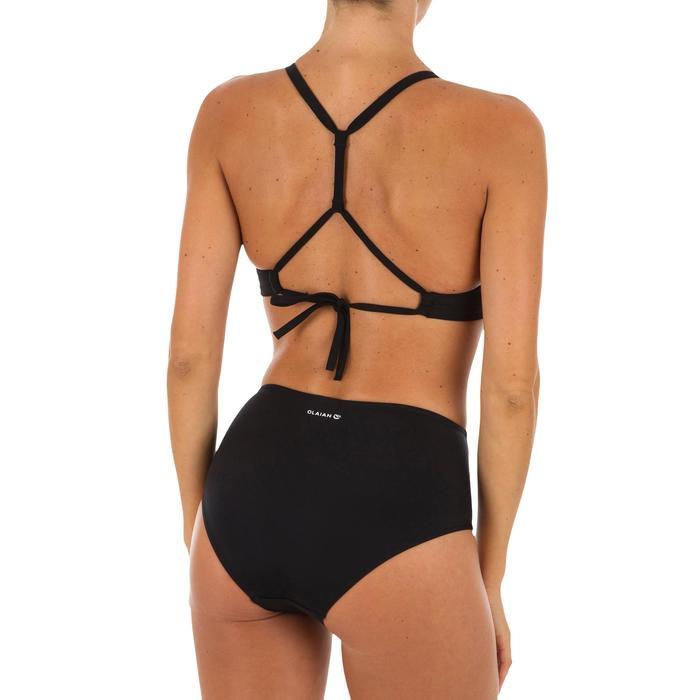 Bikini-Oberteil Bustier Bea im Rücken doppelt verstellbar Damen schwarz