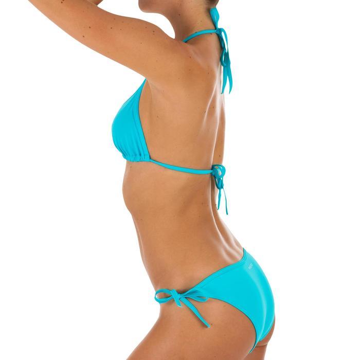 Triangeltop met schuifcups voor dames Mae turquoise