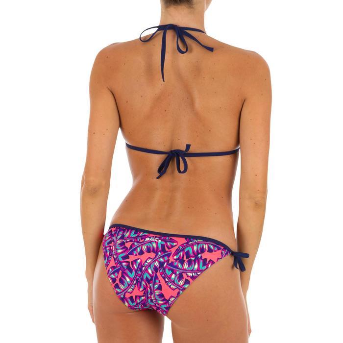 Top Bikini Triangulos Corredizos Olaian Mae Pad Mujer Copas Desmontables Rojo