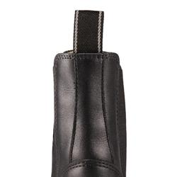 Boots cuir équitation adulte 560 noir