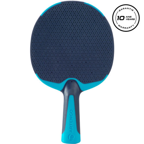 Raquette de tennis de table PPR 130 OUTDOOR bleue