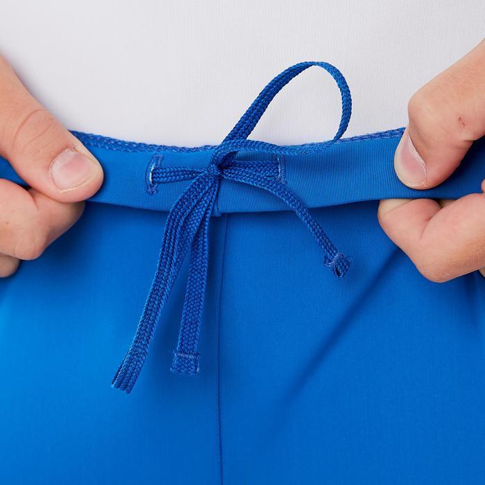 Spanbroek voor jongens, voor toestelturnen, blauw
