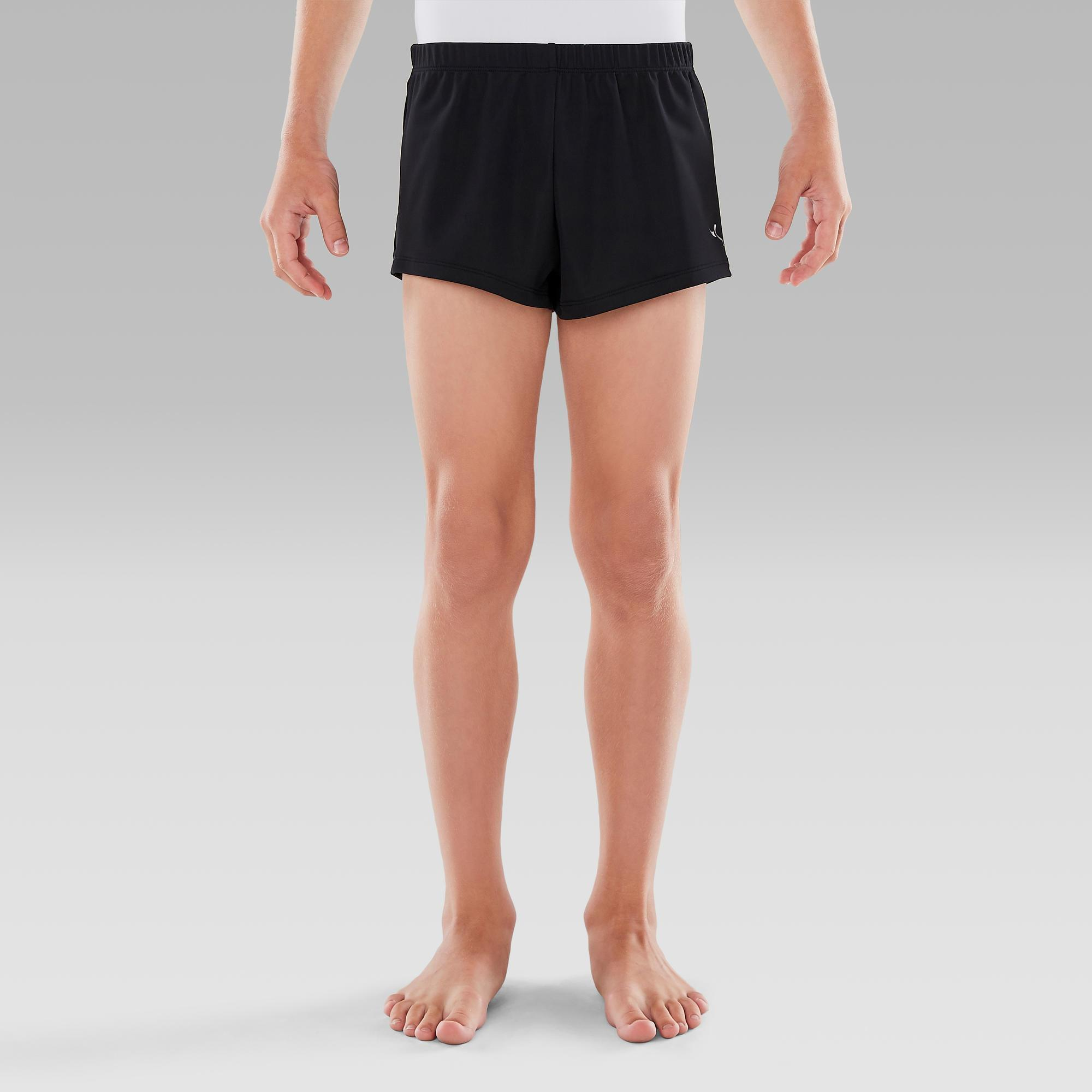 Boys' Artistic Gym Shorts (MAG) - Black | Domyos by Decathlon