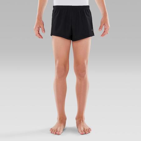 Boys' Artistic Gym Shorts (MAG) - Black