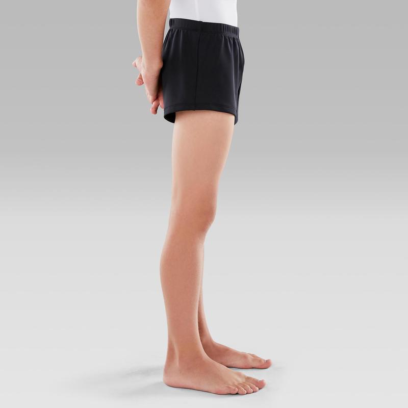 Chlapecké šortky na gymnastiku černé  28f7d027e4