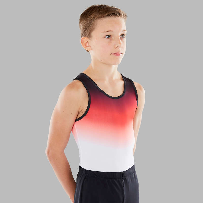 ABBIGLIAMENTO GINNASTICA ARTISTICA MASCH Ginnastica Artistica,Ritmica - Body ginnastica maschile 500 DOMYOS - Sport