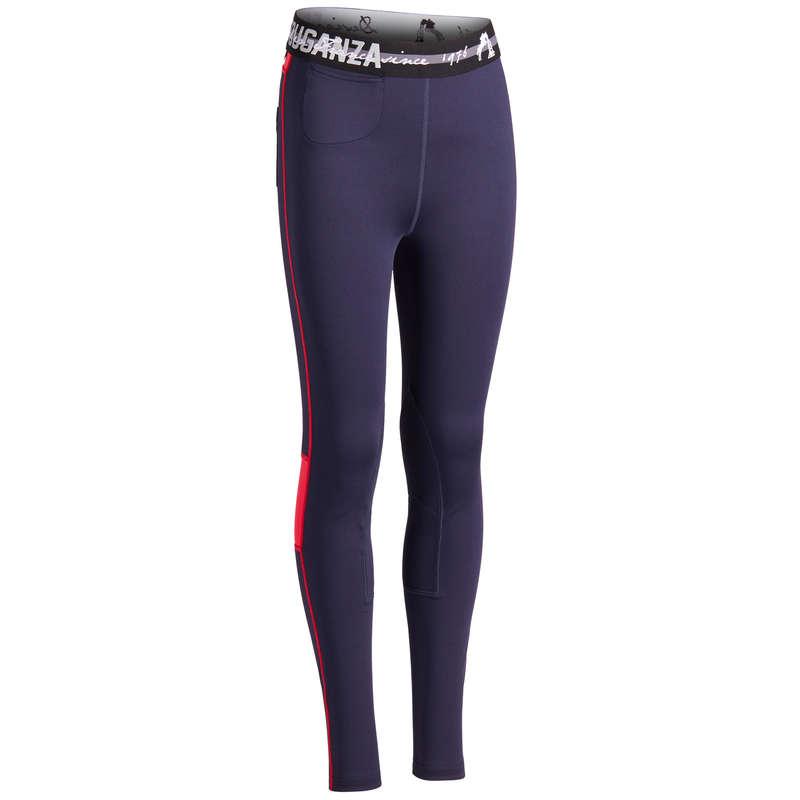 Îmbrăcăminte  echitație Jr. vreme caldă Echitatie - Pantalon echitație 100  FOUGANZA - Echitatie