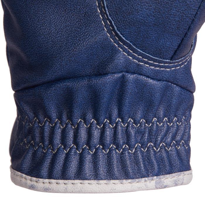 Rijhandschoenen kinderen 560 marineblauw en blauw