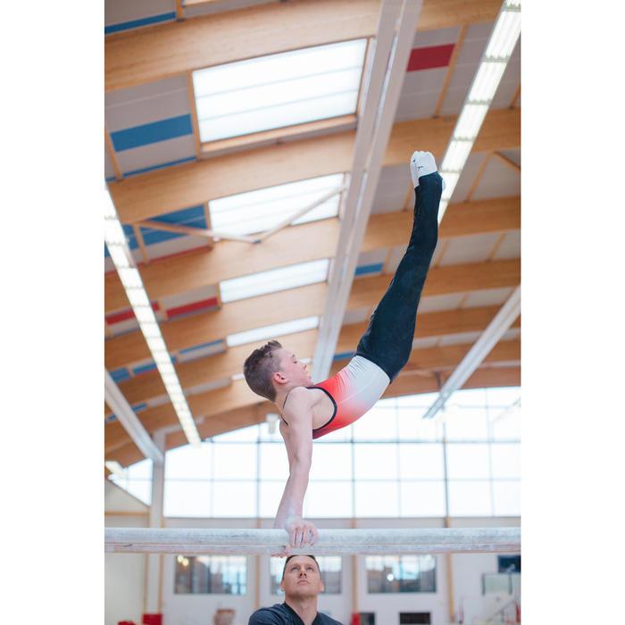 Leotardos de Gimnasia Artística Masculina (GAM) Niño Hombre Rojo