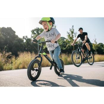 Loopfietsje voor kinderen 12 inch Run Ride 900 MTB zwart geel