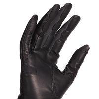 Gants cuir équitation femme 960 noir