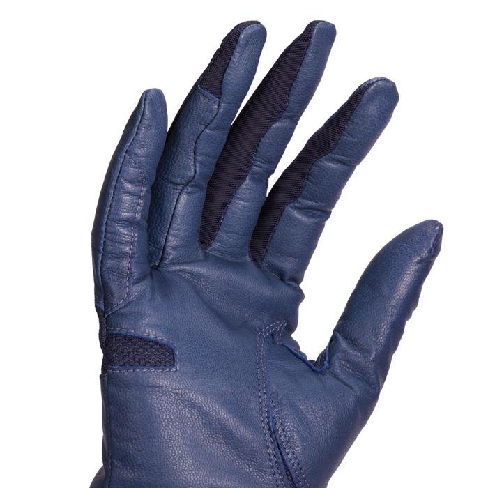 Rijhandschoenen dames 960 marineblauw