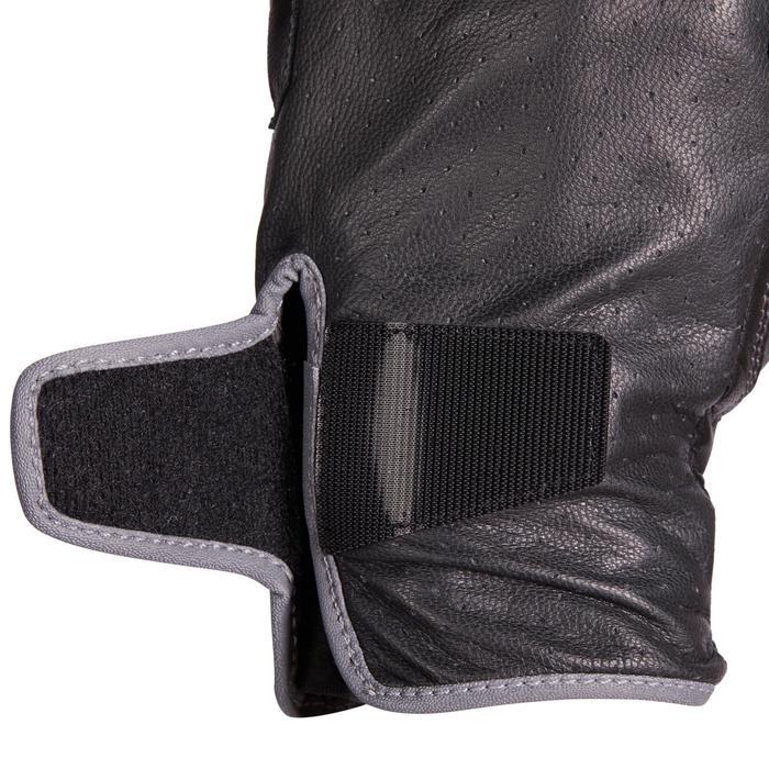 Rijhandschoenen voor dames 900 zwart