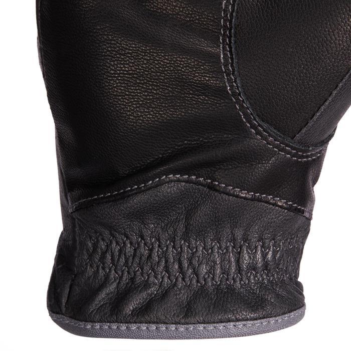 Reithandschuhe 900 Damen schwarz