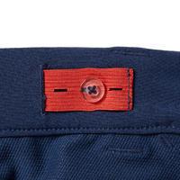 Pantalón de equitación júnior 500MESH azul turquesa y marino