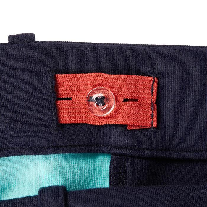 Rijbroek voor kinderen 120, marineblauw/turquoise