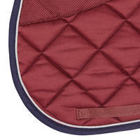 540 Horseback Riding Saddle Pad - Burgundy