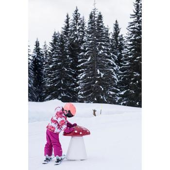 MOUFLES DE SKI ENFANT SKI-P MI 500 ROSES