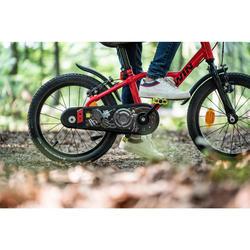 """900 16"""" 4-6 Years Aluminium Racing Bike - Red 35"""