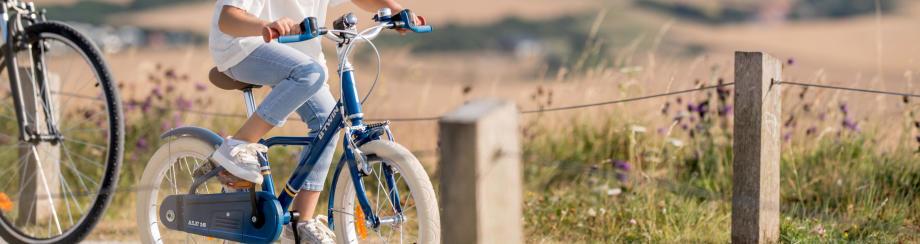 apprendre à faire du vélo sans les petites roues
