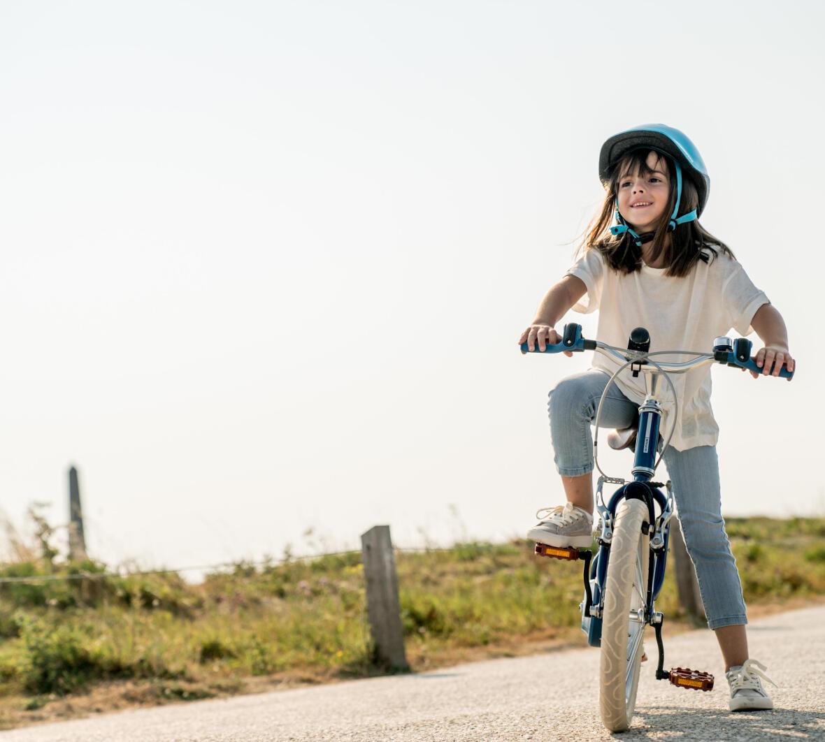 Jeu pour enfant pour apprendre à faire du vélo freiner - Conseils Sport DECATHLON