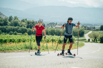ski roues
