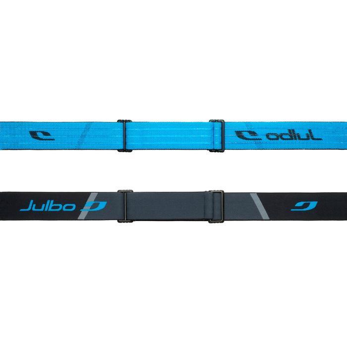 Ski-/Snowboardbrille Julbo Airflux Erwachsene schönes Wetter schwarz/blau