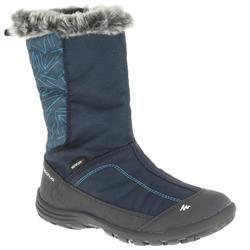 57afb6b3e Botas de senderismo por la nieve niños SH900 cálidas e impermeables azul
