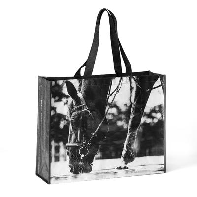 Horse Riding Tote Bag