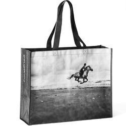 Bolsa equitación fouganza blanco y negro