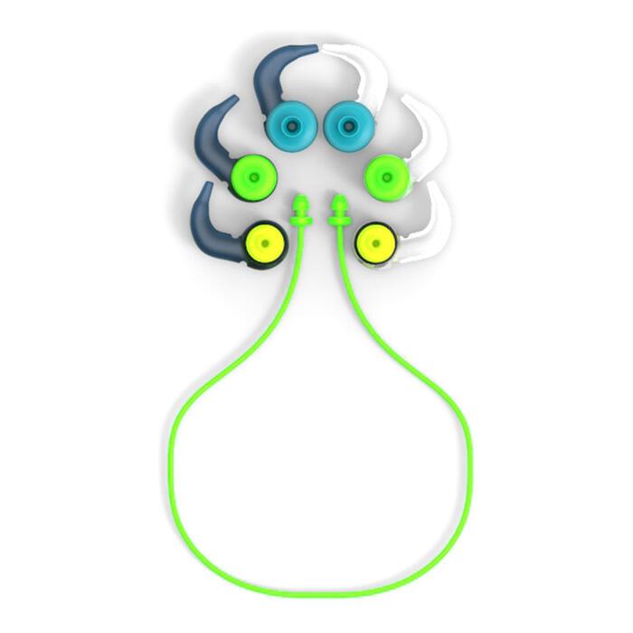 Siliconen boomvormige oordopjes 3 maten veelkleurig