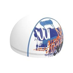 SILICONE 500 COATED MESH SWIM CAP PRINT