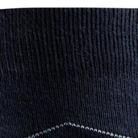 Argyle Adult Horse Riding Socks - Navy/Burgundy