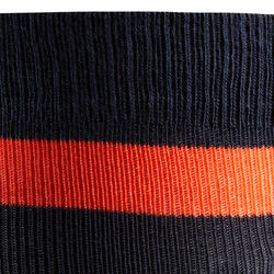 100 Adult Horseback Riding Socks - Navy/Red Stripes