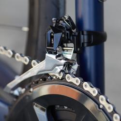 Racefiets / wielrenfiets RC520 Shimano 105 met hydraulische schijfremmen blauw