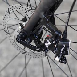 Racefiets / wielrenfiets Triban RC 520 Shimano 105 met hydraulische schijfremmen